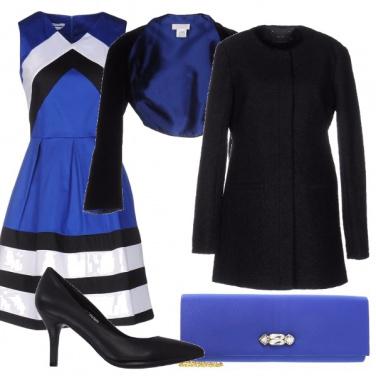 Outfit Vestito geometrico