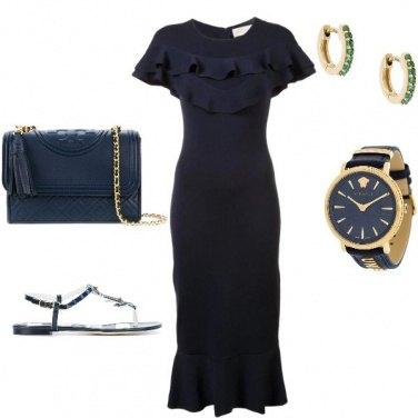 Outfit Look femminile +orologio maschile