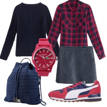 Outfit Ritorno al college