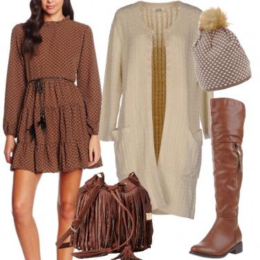 Outfit Se ami lo stile romantico
