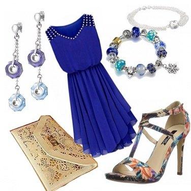 Outfit Nel blu dipinto di blu