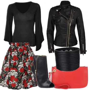 Outfit Gonna a campana alternativa