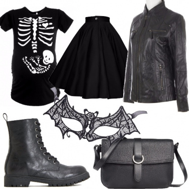 Outfit Halloween mania
