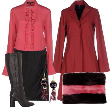 Outfit Rosa acceso di giorno
