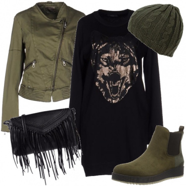 Outfit Mood grintoso in citta\'