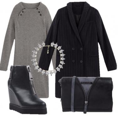 Outfit Gessato da donna