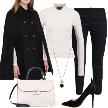 Outfit L\' irrinunciabile nero e bianco
