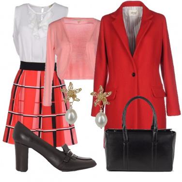 Outfit Sorpresa in rosa