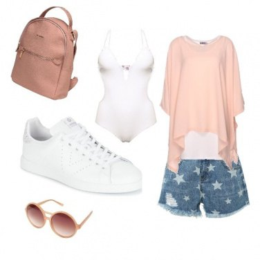 Outfit Ginnica al mare