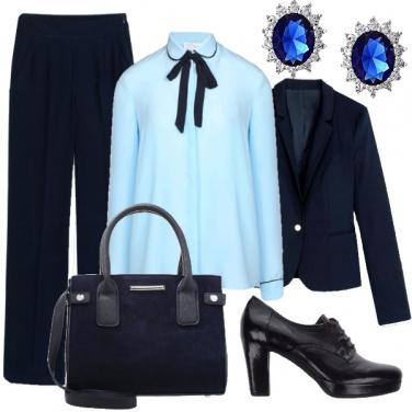 Outfit Autorevole in ufficio