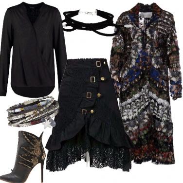 Outfit Gitana di lusso