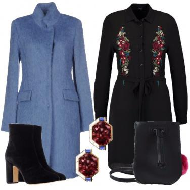 Outfit Elegante colorato