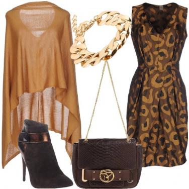 Outfit Sfumature di caffé e cioccolato