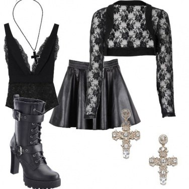 Outfit Madonna style