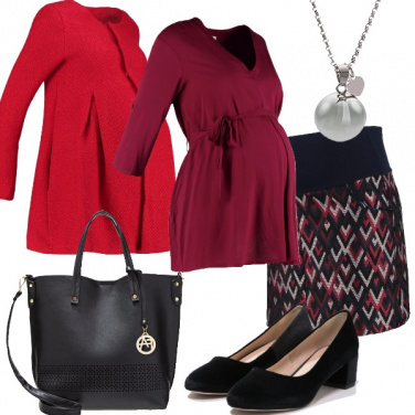 Outfit Per una sera durante l\'attesa