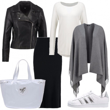 Outfit Sportive in longuette
