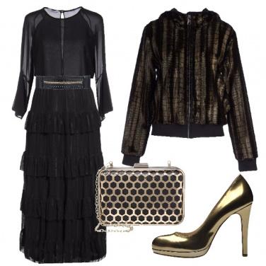 Outfit Lampi di oro