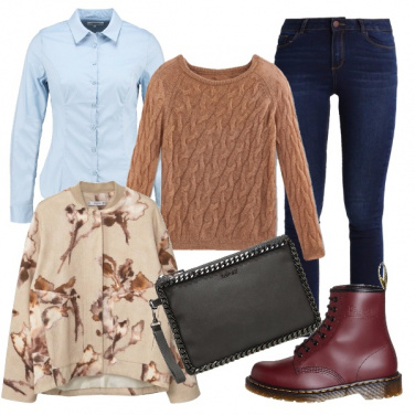 Outfit Dr. martens in camicia