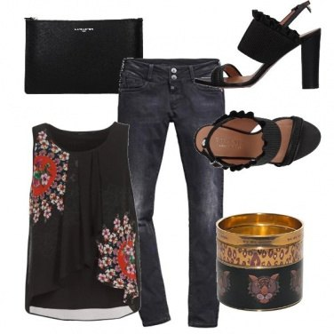 Outfit Like a tiger