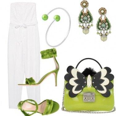 Outfit Bianco per esaltare l'abbronzatura