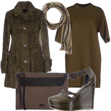 Outfit Verde sottobosco