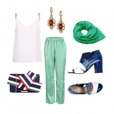 Outfit Alitalia style..
