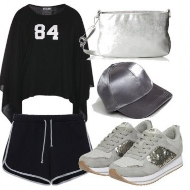 Outfit Argento urban