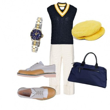 Outfit Golf country club style
