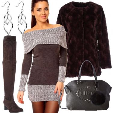 Outfit Il pullover a vestito