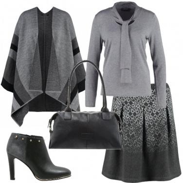 Outfit Un caldo grigio