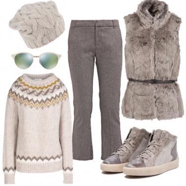 Outfit Passeggiata con i primi freddi