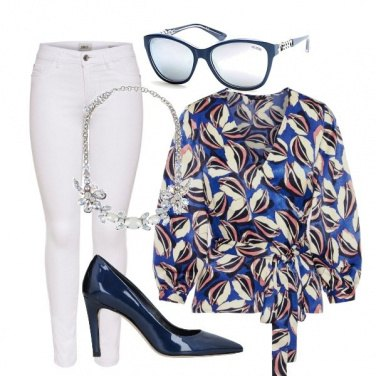 Outfit Casual biancoblu
