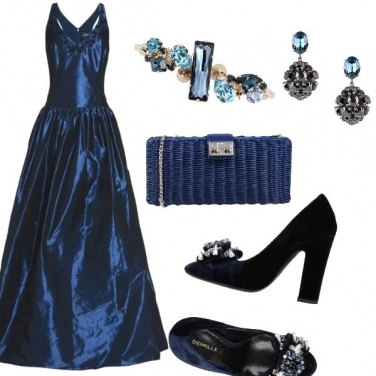 Outfit The princes in blu.
