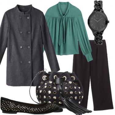 Outfit Borchie con stile