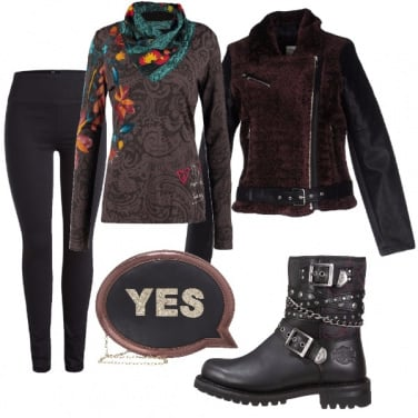 Outfit Donne in moto