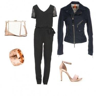 Outfit Dark con stile