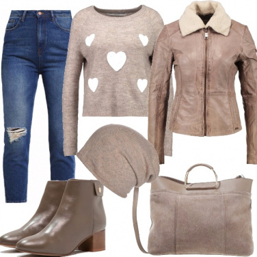 Outfit Calore beige