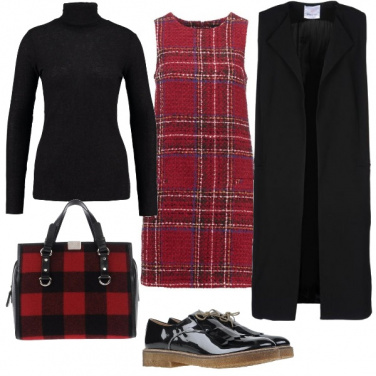 Outfit Tartan per tutti i giorni