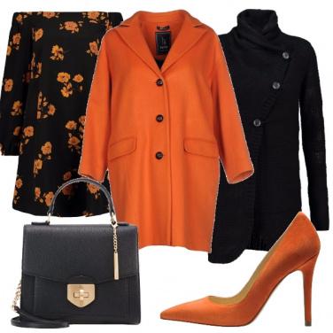 Outfit Fiori arancioni