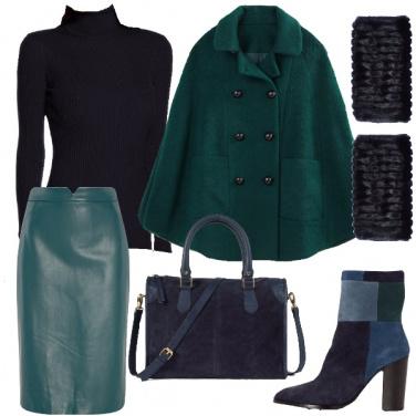 Outfit Mantella e manicotti