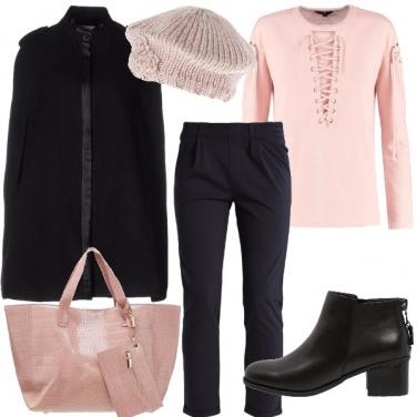 Outfit Eleganti in felpa