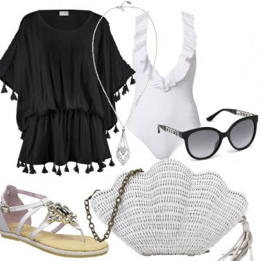 Outfit Ferragosto in spiaggia