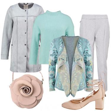 Outfit Colori pastello anche in autunno