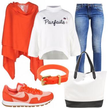 Outfit Arancione mania