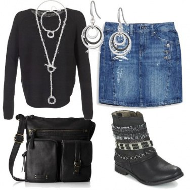Outfit Rockechic