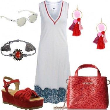Outfit Comodità colorata