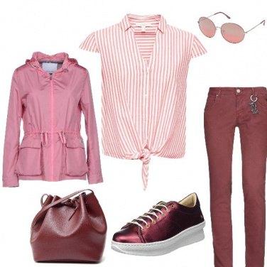 Outfit Gradazioni rosso