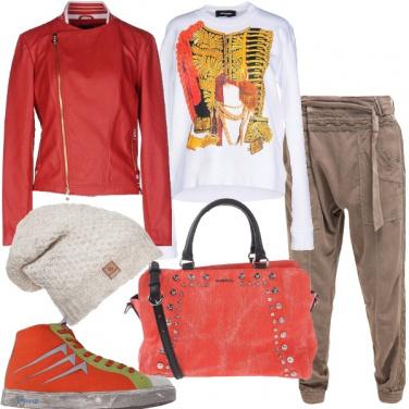 Outfit Metropolitano colorato
