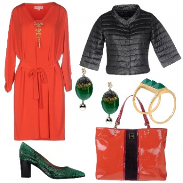 Outfit Accostamenti decisi