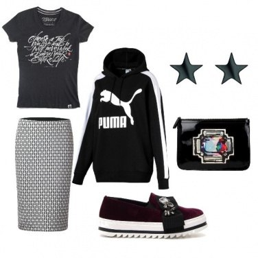 Outfit Sporty sofisticato
